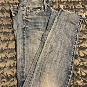 Distressed Mother Jeans size 24